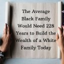 The Average Black Family Would Need 228 Years to Build the Wealth of a White Family Today
