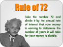 Cash Quadrant and the rule of 72